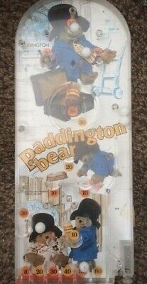 Paddington Bear Bagatelle Pinball Game - 1976 - Good Condition • 12.99£