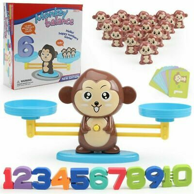 Educational Toy Gift - Monkey Balance Cool Math Game Fun Learning For Kids Boy • 7.99£