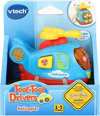 Vtech Toot Drivers Helicopter Preschool Toy • 7.99£