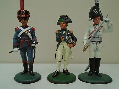 Del Prado Napoleonic Soldiers X 3  (Nelson, French Driver, Prussian Officer)  • 11.99£
