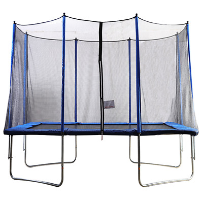 Big Air Bounce 5x7ft Rectangular Trampoline With Safety Enclosure • 189.95£