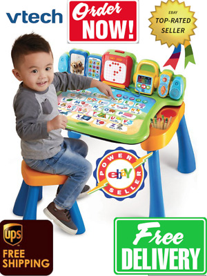 VTech Interactive LED 4 In 1 Touch & Learn Activity Desk • 43.99£