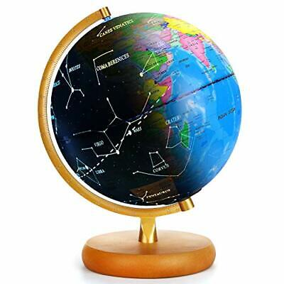 LED Globe For Kids - 3 In 1 Educational Toys - Light Up-Night/Day • 39.99£