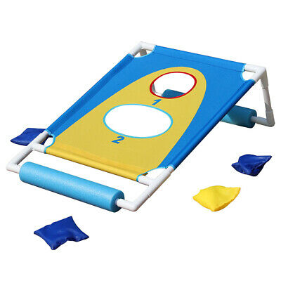 Outdoor Funny Throwing Game Set Swimming Pool Floating Target Portable Water Toy • 33.31£