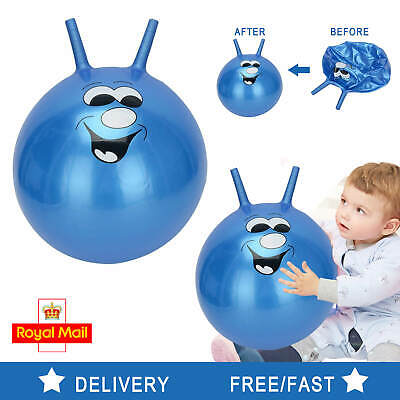 60cm Large Exercise Retro Space Hopper Play Ball Toy Kids Adult Game Uk • 7.99£