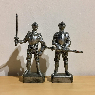 Vintage Retro Child Knights Soldier Knight Fighting Figure Toys Gift Home Decor  • 35.20£