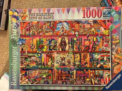 Greatest Show On Earth 1000piece Pzzle Ravensurger • 3.50£