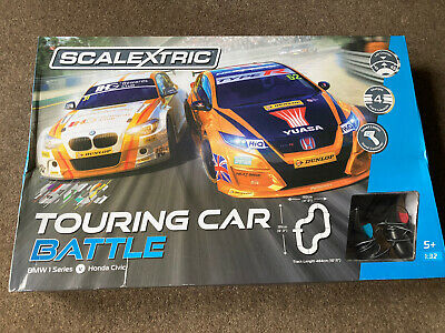 Scalextrix Touring Car Battle Set With Ultimate Track Extension Pack • 99£