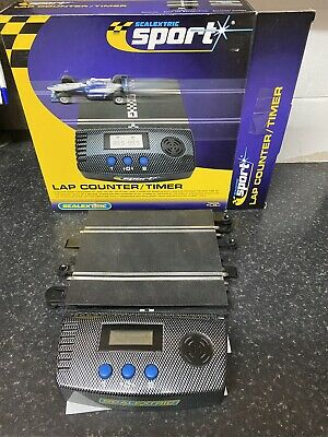 Hornby Scalextric Lap Counter / Timer With SCX To Sport Connector  • 9.99£