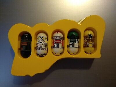 Mighty Beanz Star Wars Droid Mail Order Set 82/83/84/85/86 VHTF • 155£