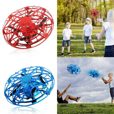 Mini Drones 360° Rotating Smart Mini UFO Drone For Kids Flying Hand-Control Toys • 9.99£