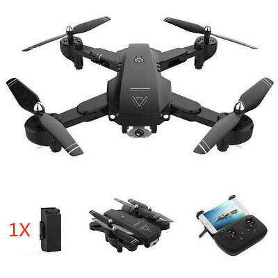 Drone X Pro Quadcopter Drone 1080P HD Foldable Dual Camera|5G WiFi FPV GPS 3D RC • 54.88£