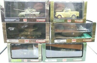 Hobby Master 1/72 Scale Military Tanks And Vehicles UK SELLER POST FREE • 21.99£