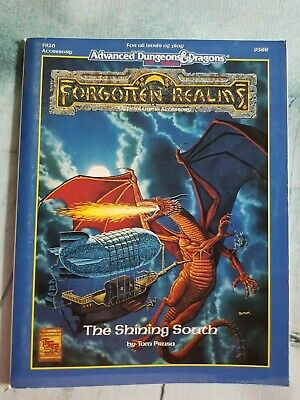 AD&D Forgotten Realms The Shining South • 20£