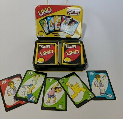 The Simpson's, Uno Card Game Special Edition • 1.99£