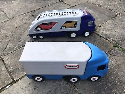 Little Tikes Lorry And Car Transporter Toys Ride On Toddler Preschool Toys • 29.99£