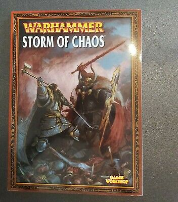 Warhammer Storm Of Chaos Book • 10£
