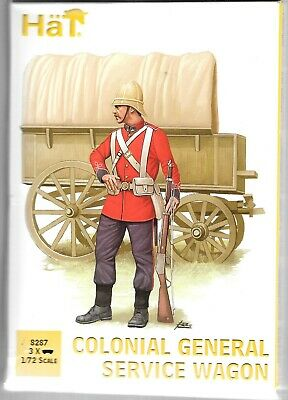 BL HAT Colonial General Service Wagon W/ Crew In 1/72 8287 ST • 10.19£