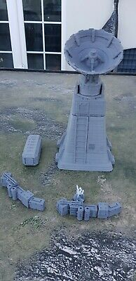 Star Wars Legion  Terrain Large Radar Tower Plus Barricades And Container S2 • 29.99£