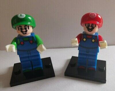 Mario And Luigi Mini Figures Lego Compatible • 3.99£
