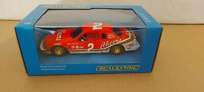 Scalextric Nascar #2 Ford Thunderbird Cheers C4067 MB • 35£