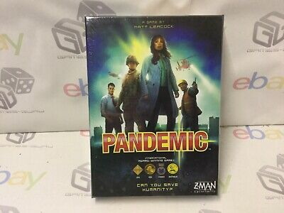 Z-Man Games - New And Sealed Gift Pandemic Home Entertainment Board Game-2013 • 24.99£