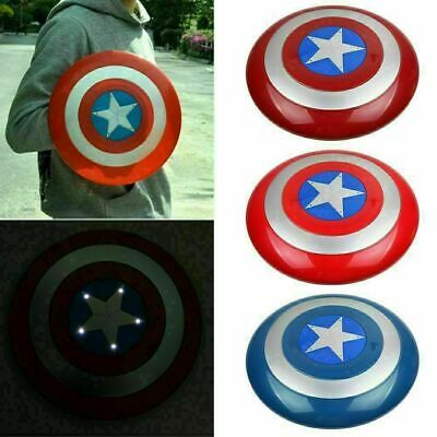 Avengers Captain America Shield With LED Light & Collectible Kids Toy Gift • 8.59£