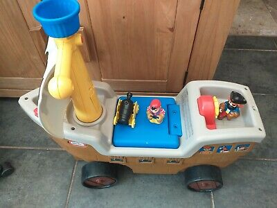 Baby Toddler Little Tikes Pirate Ship Ride On Toy Working Sounds  • 15£
