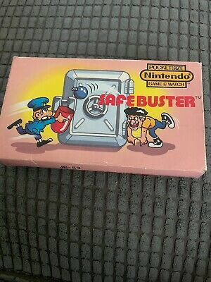 Nintendo Safebuster Game & Watch - Box Great Condition • 16.10£