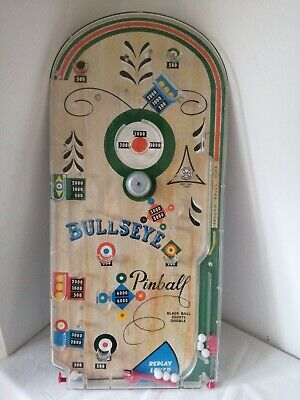 Vintage Pinball Bagatelle Game 60s  Or 70s Working By Marx Toys Great Britain • 5£