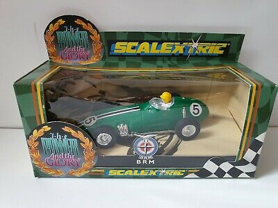 VINTAGE SCALEXTRIC C098 BRM No.5 The Power & The Glory Excellent Condition  • 25£
