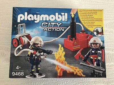 Playmobil City Action 9468 Firefighters BNIB • 15£