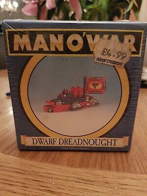 Warhammer Man O War Dwarf  Dreadnought • 20£