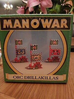 Warhammer Man O War Imperial Wolfships ×3 + Box Games Workshop • 20£