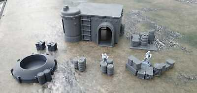 Star Wars Legion Terrain Large Compound Building And Scatter S2 • 29.99£