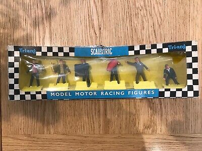 Scalextric Vintage Officials And Pit Crew In Original Box F300 • 35£