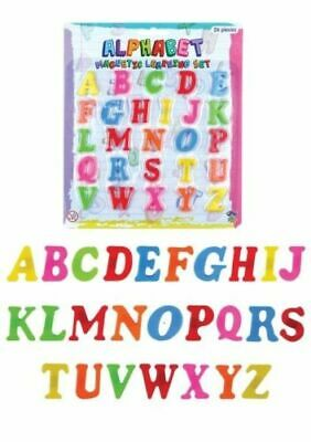 Magnetic Letters Alphabet & Numbers  Kids Learning Magnets For Fridge Magnets  • 4.99£