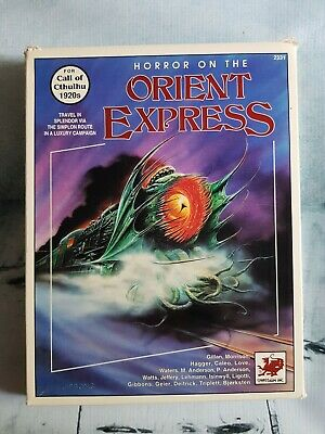 Call Of Cthulhu - Horror On The Orient Express • 200£