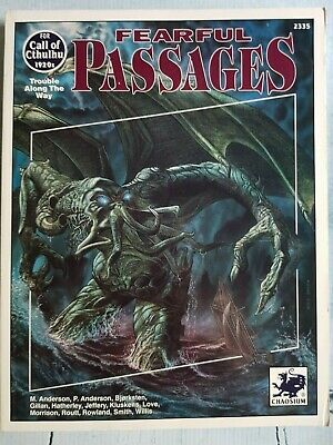 Call Of Cthulhu - Fearful Passages • 50£