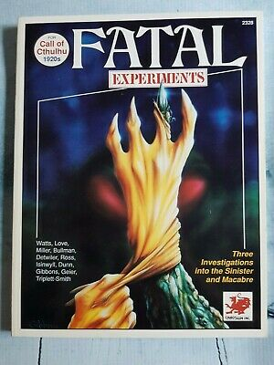 Call Of Cthulhu - Fatal Experiments • 40£