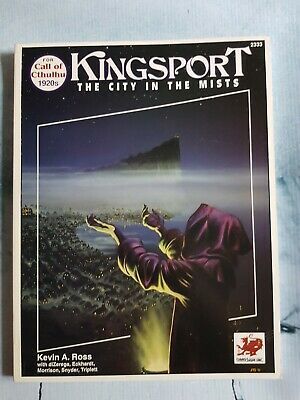 Call Of Cthulhu - Kingsport The City In The Mists • 60£