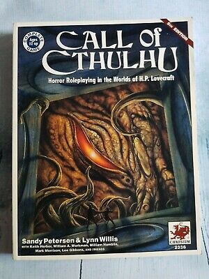 Call Of Cthulhu 5th Edition Rulebook • 20£