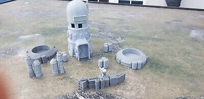 Star Wars Legion Terrain 2 X Wells / Tower And Scatter Empire Rebels S1 • 27.99£