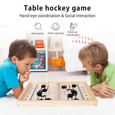 Family Games Table Hockey Game Catapult Chess Parent-child Interactive Toy UK • 9.39£
