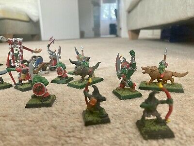 Collection Of Warhammer Fantasy Orca And Goblins • 8.60£