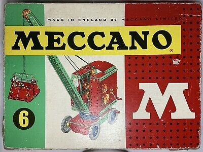 Meccano Box Set 1962-4 M Series No.6 Vintage  • 13.51£