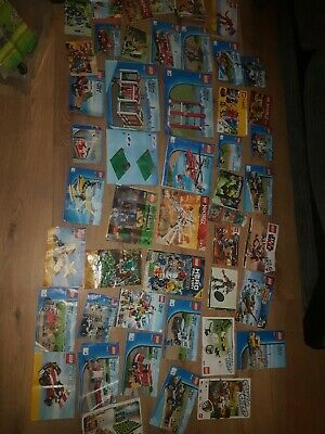 Lego Instructions Manuals Job Lot • 3.30£