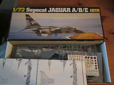 Vintage Heller Sepecat Jaguar A/B/E  1/72 Scale Model Kit • 12.99£