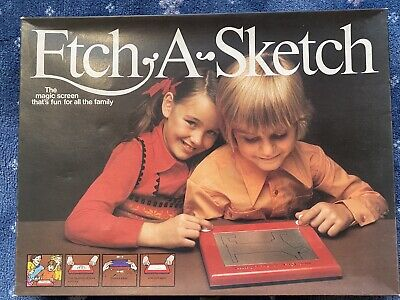 Vintage Etch A Sketch Drawing Game ~ Boxed ~ Full Working Order  • 8.99£