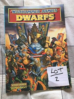 Warhammer Armies Dwarf Army Book (lot2)  • 10£